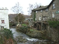 Photo of old mill in Ambleside